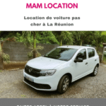 Location voiture à La Réunion pas cher pour ses trajets quotidiens
