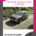 Location de voiture pas cher Etang Salé pour voyager à La Réunion